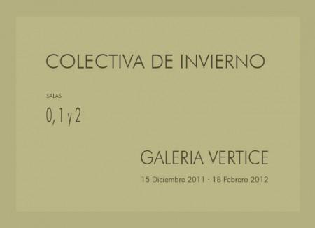 Colectiva de Invierno en Vértice