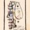 Aurelio Suárez. Boceto 2353. 1963. Gouache,tinta y lápiz/papel. 23x17 cm