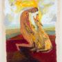 Cveto Marsic. Sin título. 1987. Acrílico/papel. 65x50 cm