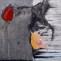 Cveto Marsic. Sin título. 1993. Óleo/lienzo. 142 x 142 cm