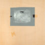 Kely. Sin título. Mixta/papel/madera. 60,5x60,5 cm
