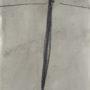 Miguel Galano. Sin título (poste). 1993. Grafito y óleo/papel. 43x24,5 cm