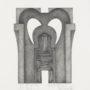 Agustín Bayón Sin título (Arquitectura). 1998. Lápiz papel. 34x27cm