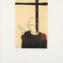 Max Neumann. Coal Man. Grabado. 17/50. 29x19,5 cm (mancha)
