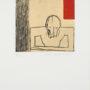Max Neumann. Why. Grabado. 17/50. 24,5x24,5 cm (mancha)