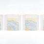 Plágaro. Cuadros iguales. 1998. Mixta/tela/madera. 30x22x5 cm ud.