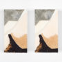 Plágaro. Cuadros iguales. 1998. Mixta/tela/madera. 40x22x6 cm ud.