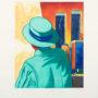 Eduardo Úrculo. Torres gemelas. 1993. Aguafuerte y aguatinta. PA - Ed150ejs. 76x56 cm