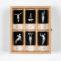 Sofía Santaclara. Lepidópteras. 2012. Pigmentos minerales/papel algodón. 6,38x4,25cm ud. 21x18 cm (caja)