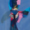 Juan Gomila. Sin título. 1991. Mixta/papel. 15x10 cm